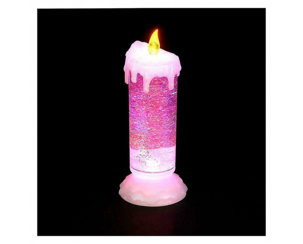 24cm Water Candle