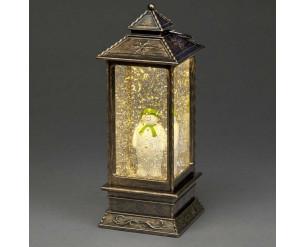 27cm Lantern w/The 'Snowman'