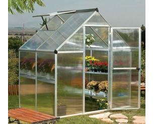 Palram Mythos Greenhouse 6x4 - Silver