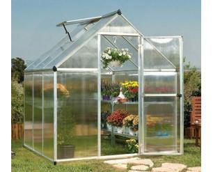Palram Mythos Greenhouse 6x6 - Silver