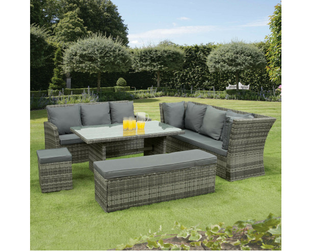 GSD Nevada 10 Seat Rattan Sofa Set