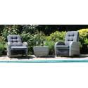 Bellevue Rattan Rocking Garden Chair Set