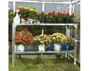 Greenhouse Steel Potting Table Workbench By Palram-Canopia
