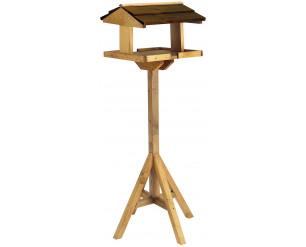 Gardman Self Assembly Bird Table, Brown, 41x43x114 cm