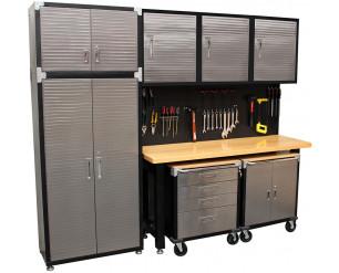 Seville 9 Piece Garage Storage System