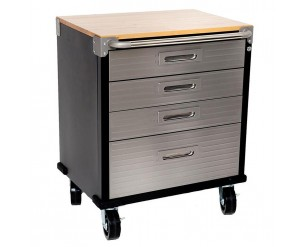 Seville Garage 4 Drawer Roller Cabinet