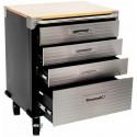 Seville Garage 4 Drawer Roller Cabinet
