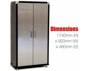 Seville Classics Cabinet 6ft Tall x 3ft Wide Steel Heavy Duty Garage Storage