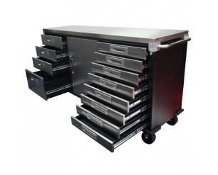 Seville Classics 12 drawer Workbench Ultra HD stainless steel