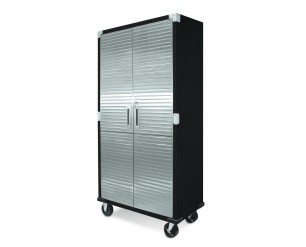 Seville HD 6ft Upright Steel Cabinet With Wheels