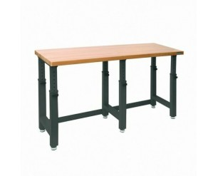 SEVILLE WORKBENCH ADJUSTABLE HEIGHT HEAVY-DUTY BEECH HARDWOOD