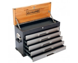Seville 5 Drawer Heavy Duty Timber Top Tool Box