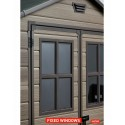 Keter Plastic Garden Shed Scala 6 x 5ft
