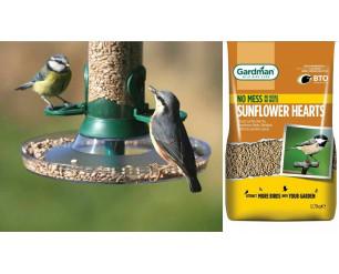 Gardman Sunflower Hearts/Seed - Premium No Mess Wild Bird Food 12.75kg