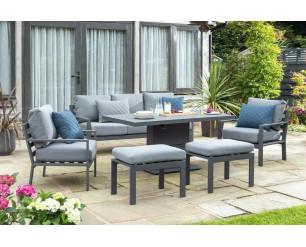 Titchwell Luxury Garden Furniture Lounge Set