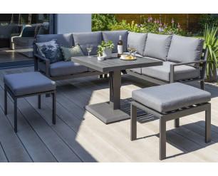 Titchwell Luxury Garden Furniture Mini Corner Set