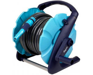 Flopro 2 in 1 Compact Garden Hose Pipe Reel, 20 m (65 ft)