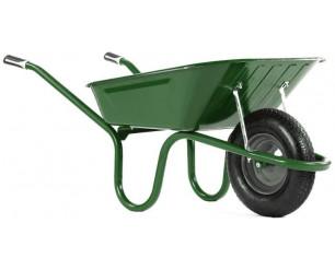Haemmerlin 1041G Original Green 90L Wheelbarrow with Pneumatic Tyre