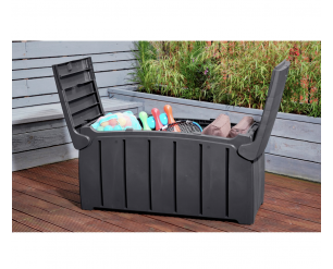 Ward Plastic Garden Storage Box Grey