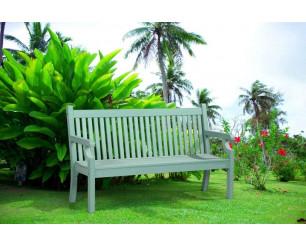 Winawood Sandwick Garden Benches - 3 Seat Bench - Duck Egg Green